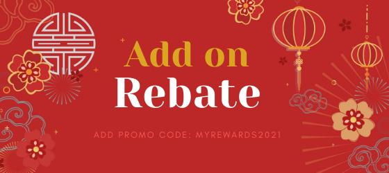 Add-on Rebate